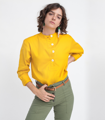 Yellow Rosie top