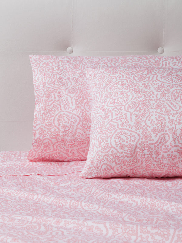 Shelby Pink Sheet Set
