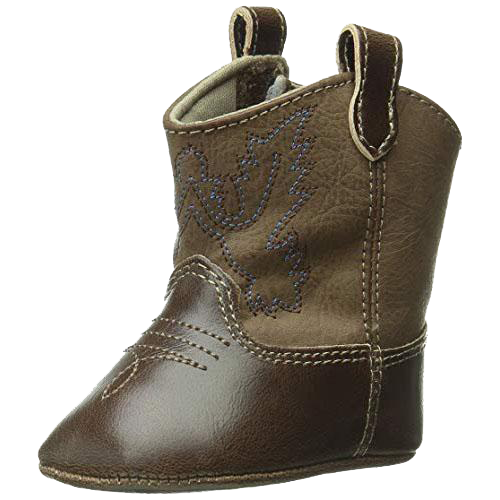Baby Western Boot, Brown