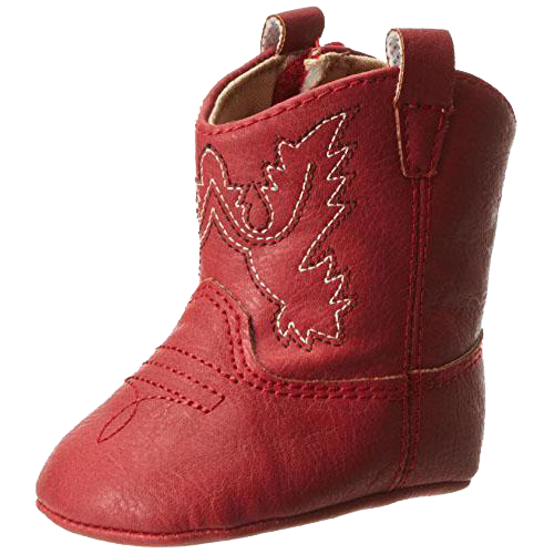 Baby Western Boot, Red