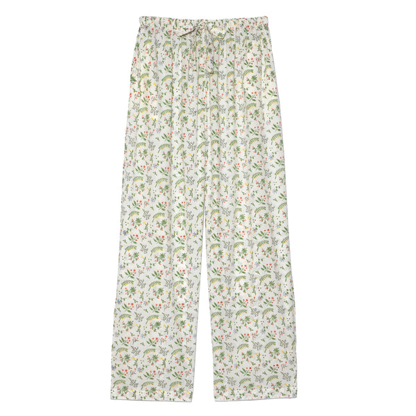 Block-Print Pajama, Meadow Flower
