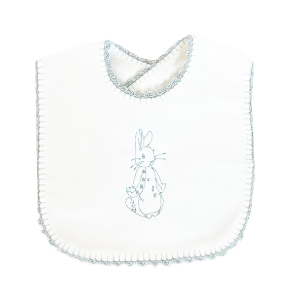 Cotton Picot Bib