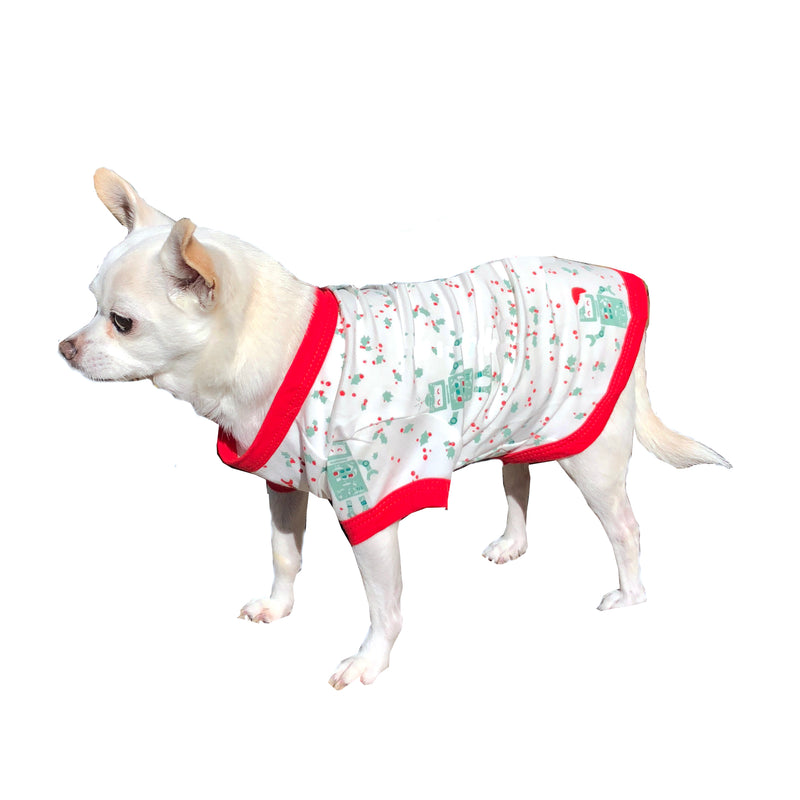 Pet Holiday Robot Pajama
