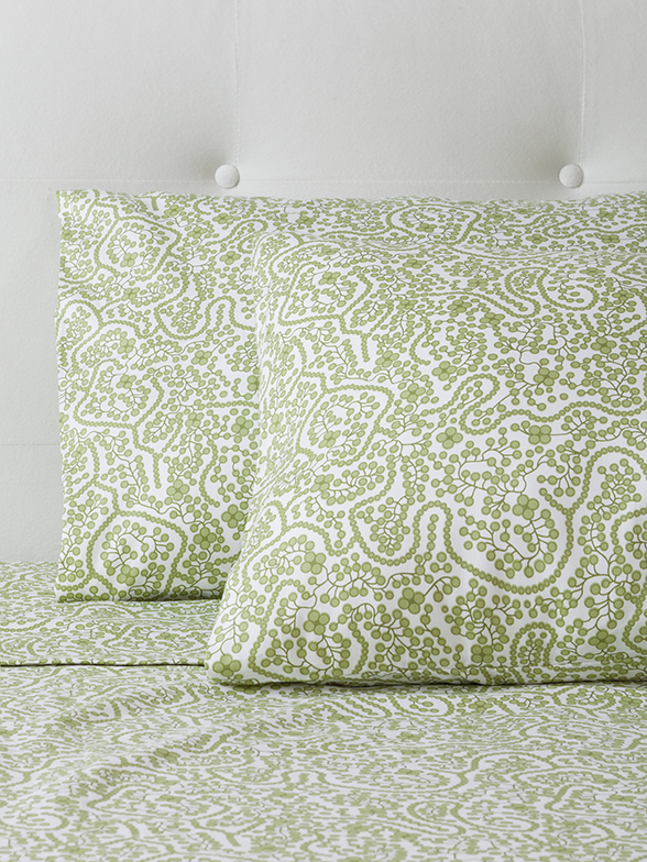 Shelby Green Sheet Set
