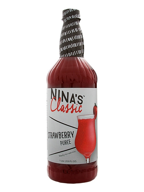 Nina's Classic Strawberry Puree Cocktail Mix