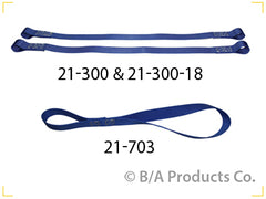 "21-300  -  24"" Motorcycle Handlebar Soft Tie Down Straps"