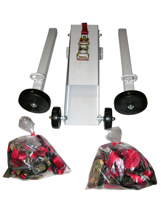 21-5  -  B/A PRODUCTS Motorcycle Dolly w/ Straps & Ratchets