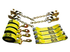 38-200  -   Rollback Chain Ends Tie-Down Kit w/ 14ft Straps