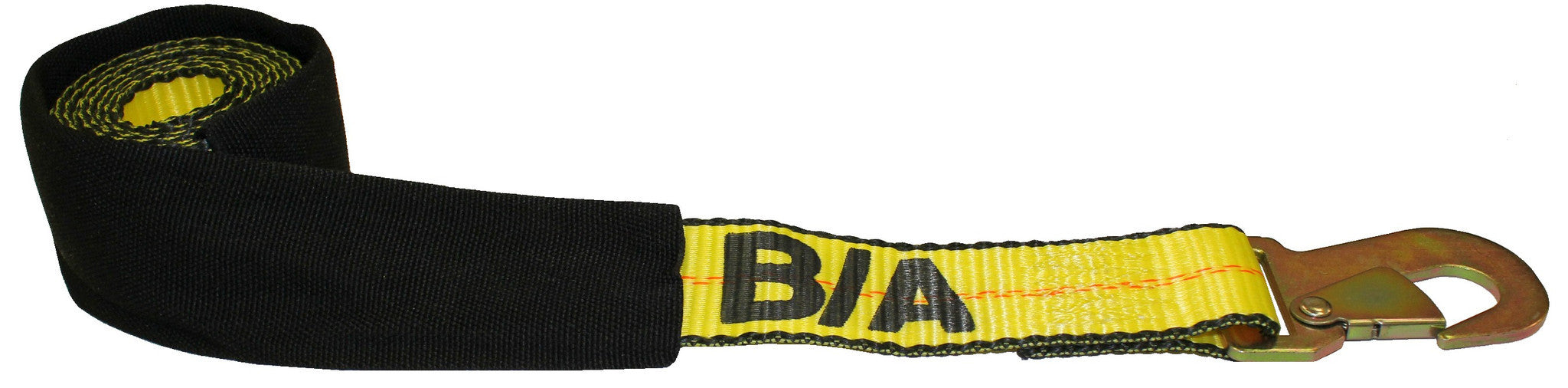 38-3D  -  8ft. Snap Hook ( Dynamic Style) Wheel Strap w/ Cordura Sleeve
