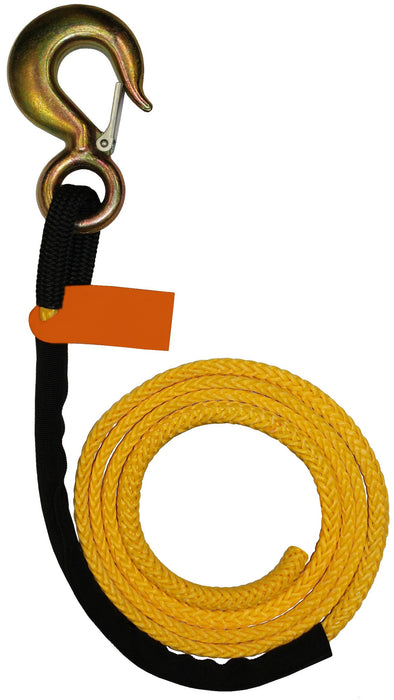 "4-R71675  -  7/16"" 75ft Synthetic Winch Rope Line"