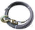 "4-34EI150S  -  3/4"" 150ft Steel Core Winch Cable w/ Swivel Hook"