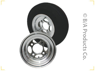 40-D7096   -   Replacement Aluminum Wheels & Dolly Tires for In The Ditch 5.70