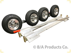 40C-SLAD4  -  Collins Aluminum Dolly w/ 4.80 X 8 Aluminum Wheel