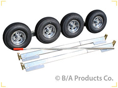 40C-SLAD5  -  Collins Aluminum Dolly w/ 5.70 X 8 Aluminum Wheels