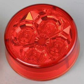 "63005  -  2 1/2"" Red 4 LED Light"