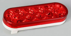 "63013  -  6"" Red Oval 17 LED Light - Stop/Turn/Taillight"