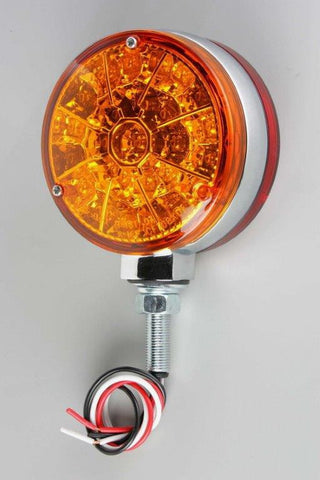 63021     PEDESTAL LED LIGHT AMBER/RED