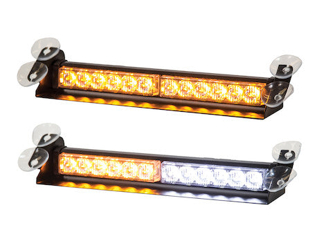 "8891025  -  14"" LED Dashboard Light Bar Amber/Clear"