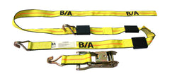 BA-R100  -  Double J Wheel Strap w/ Ratchet