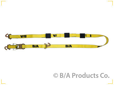 "BA-SJL120  -  2"" 10ft Wheel Strap w/ Long Swivel J"