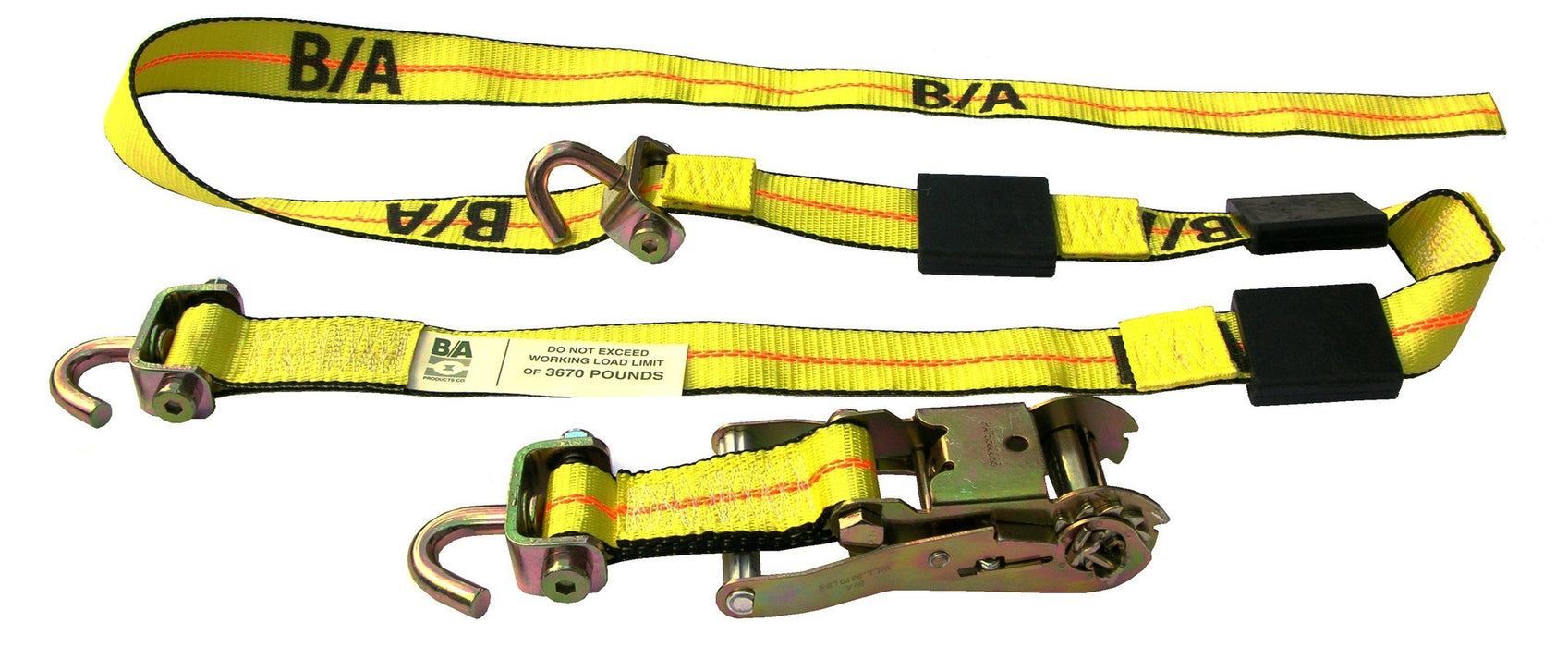 BA-SJR100  -  Swivel J Wheel Strap w/ Ratchet