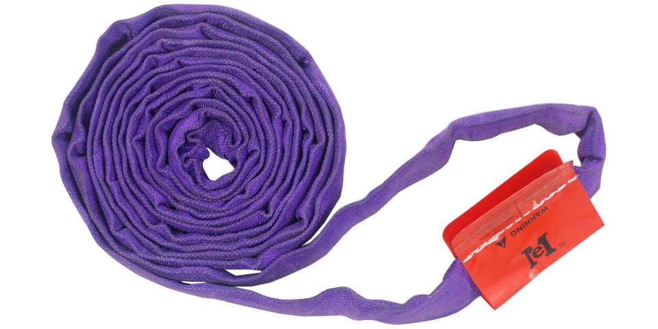 EN30-8   -   Purple Polyester Round Sling 8 ft