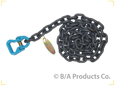 "G10-AC386   -   Grade 100 Axle Chain w/ Sling Connector 3/8"" 6'"