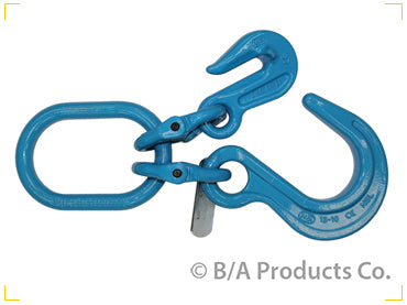G10-12FGO   -   Grade 100 Foundry Hook & Cradle Grab Hook on Oblong Link