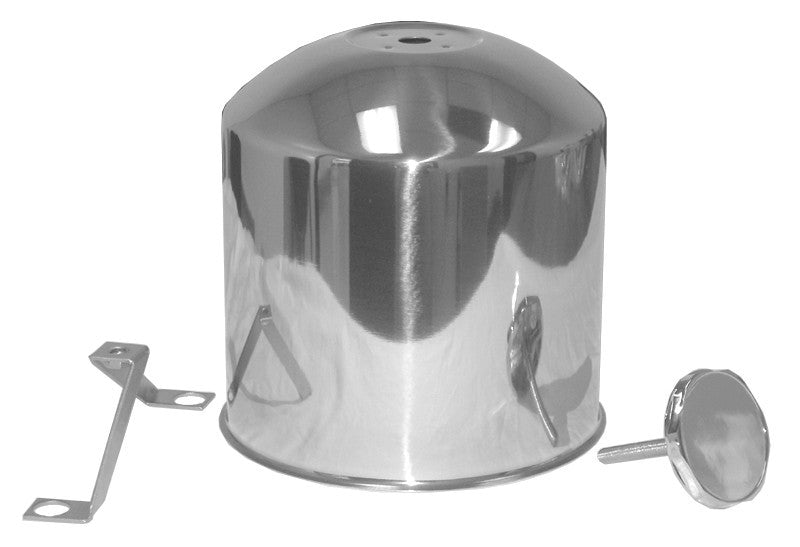 "LPQ2020  -  Rear Hub Cover for Aluminum Rim Fits 22.5"", 10 Lug"