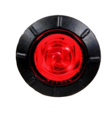 "M09320R  -  Red 3/4"" Mini Clearance Bullet 1 LED"