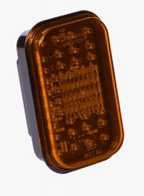 M42210Y<BR>  4X5 RECTANGULAR AMBER MARKER 52 LED