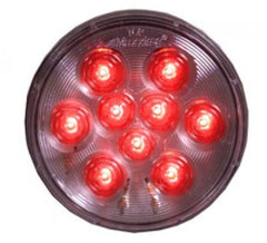 "M42322RCL  -  Red/Clear 4"" Round - Stop/Turn/Taillight"