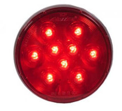 "M42322R  -  Red 4"" Round - Stop/turn/Taillight"