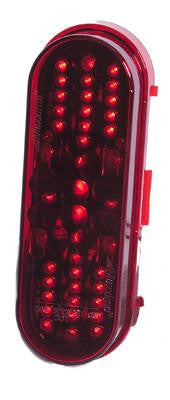 "M63420R  -  Red 6"" Oval Marker 42 LED - Stop/Turn/Taillight"