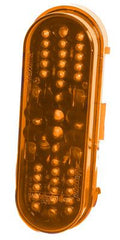"M63420Y  -  Amber 6"" Oval Marker 42 LED"