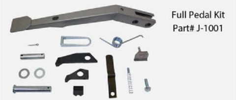 J-1001<BR> REPLACEMENT PEDAL KIT