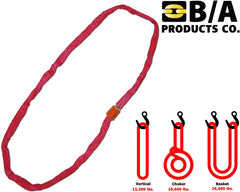 38-RSR-12 -  12 ft. Red Round Sling