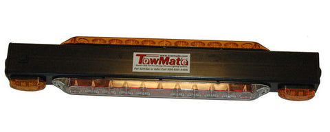 TM21S<br> TOWMATE LIGHTBAR W/STROBE DIRECTIONALS AND YELLOW TURN SIGNALS