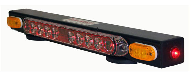 TM21  -  TowMate Wireless Light Bar w/ Yellow Turn Signal