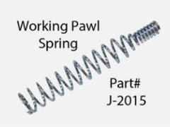 J-2015  -  Working Pawl Spring