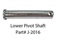 J-2016  -  Lower Pivot Shaft