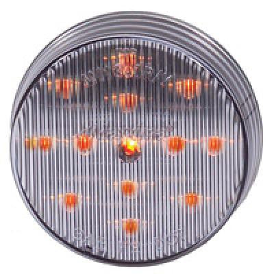 "M11300YCL  -  Amber/Clear 2.5"" Clearance Marker 13 LED"