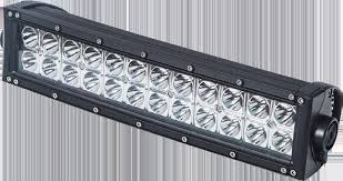 "MTLW101353  -  LED Double Row Light Bar 13"" White/Amber Strobe"