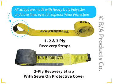 "9-12/30   -   12"" X 30' Recover Sling Single Ply"