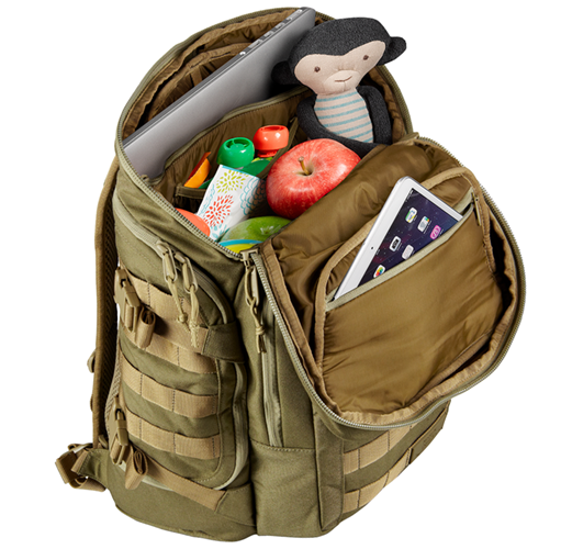 S.01 Action Backpack - Features - Mission Critical