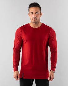 Premium Long Sleeve - Deep Red