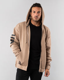 Mission Zip Up Hoodie - Desert Sand