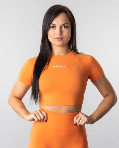 Seamless Crop Top - Dreamsicle