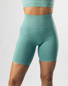 Seamless Biker Shorts - Jade Green