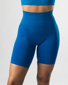 Seamless Biker Shorts - Palace Blue